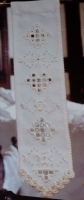 Norwegian Bellpull Sampler ~ Hardanger Embroidery Pattern