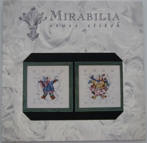 Mirabilia Designs ~ Giggles In The Snow MD-#31 Cross Stitch Chart