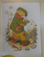 Alfie the Mouse ~ Cross Stitch Chart