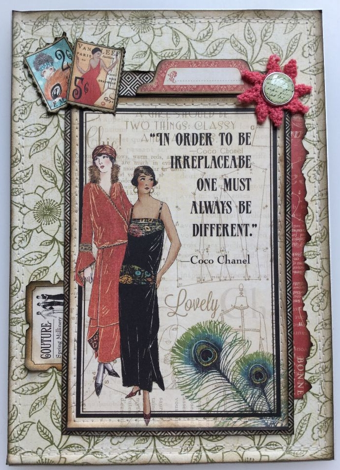 VINTAGE ~ OOAK Handmade Cards