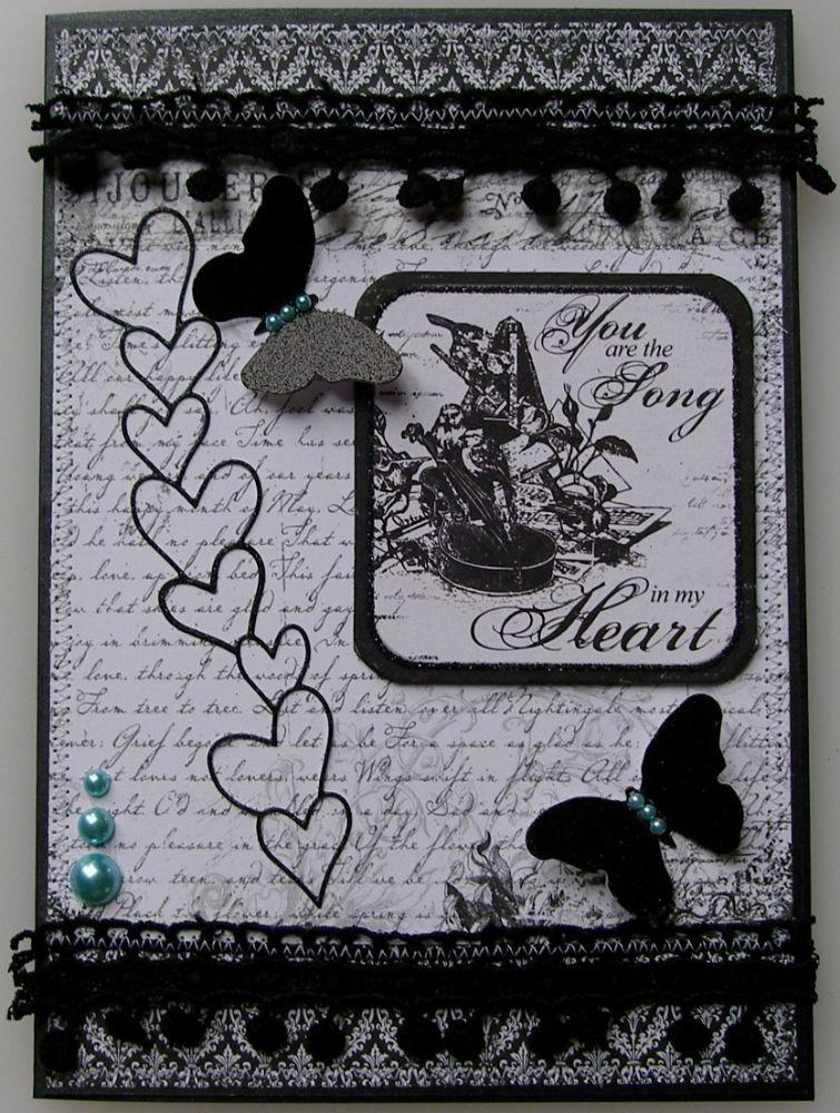 ANNIVERSARY ~ OOAK Handmade Cards