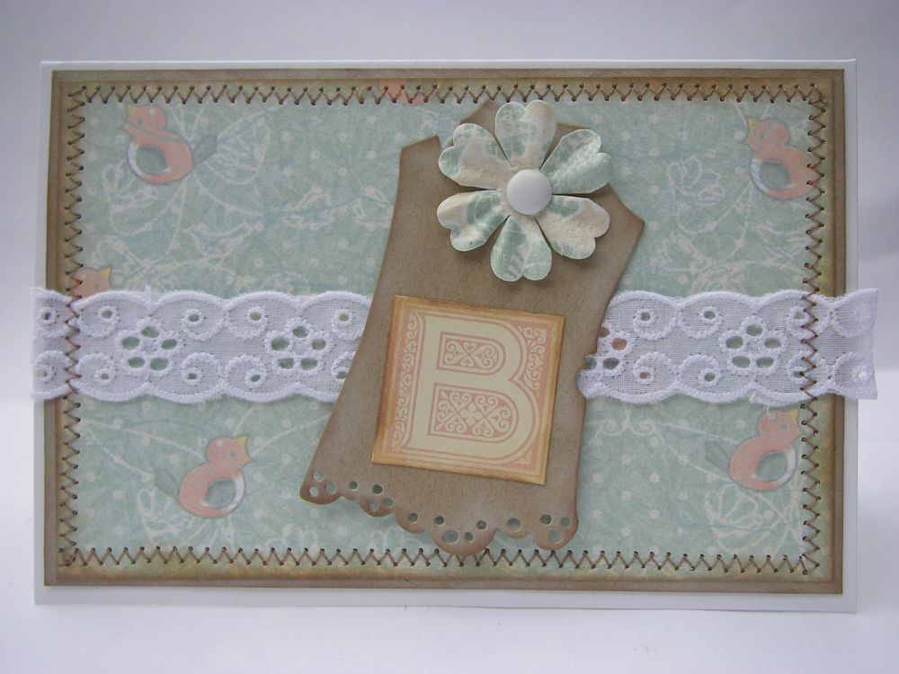 BABY ~ OOAK Handmade Cards