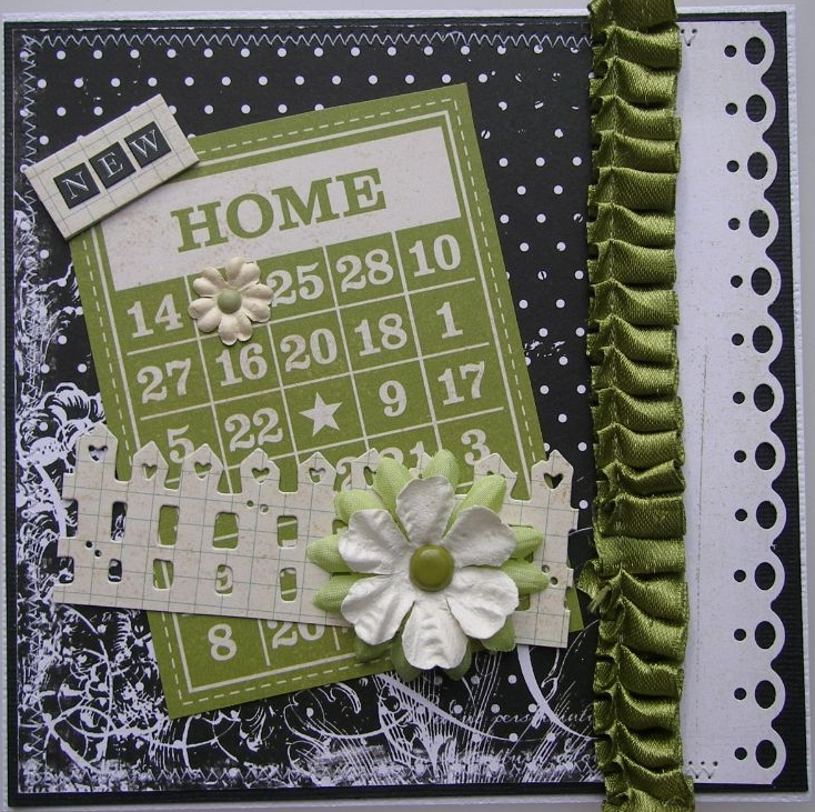 NEW HOME ~ OOAK Handmade Cards