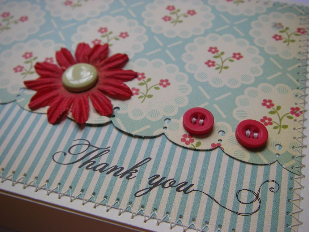 THANK YOU ~ OOAK Handmade Cards