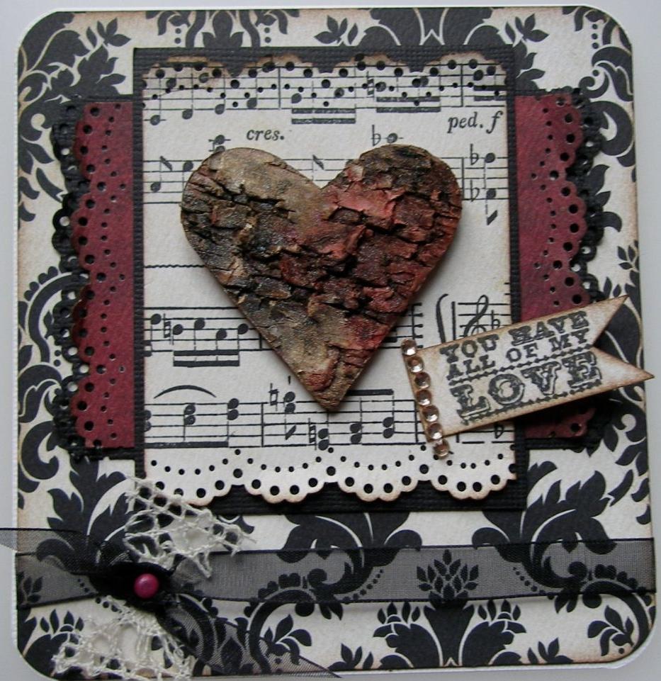 VALENTINE ~ OOAK Handmade Cards