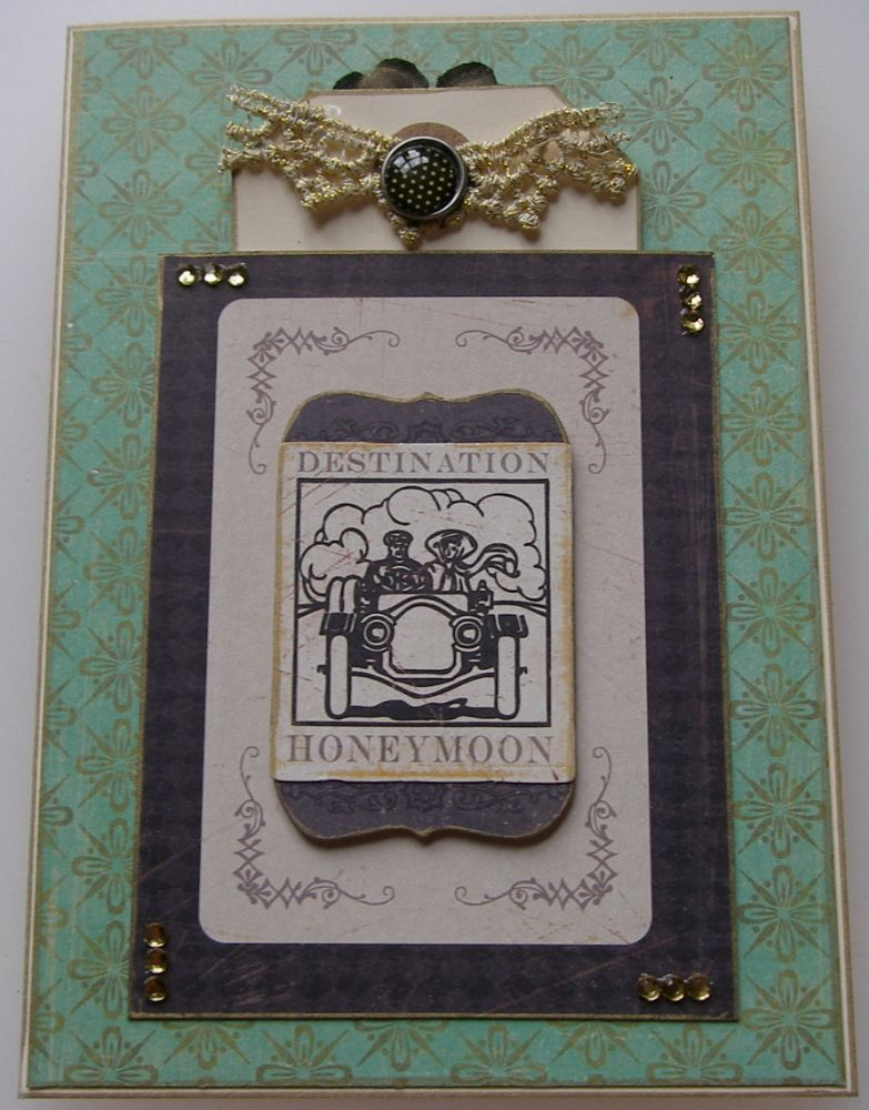 WEDDING ~ OOAK Handmade Cards