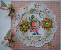 *the best is yet to come* OOAK Handmade Scrapbook Photo Album