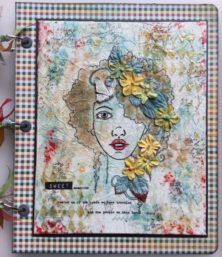 IN MEMORY ~ OOAK Handmade Scrapbook Albums