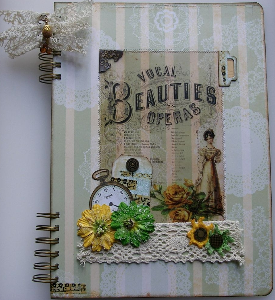JOURNALS NOTEBOOKS ~ OOAK Handmade Albums