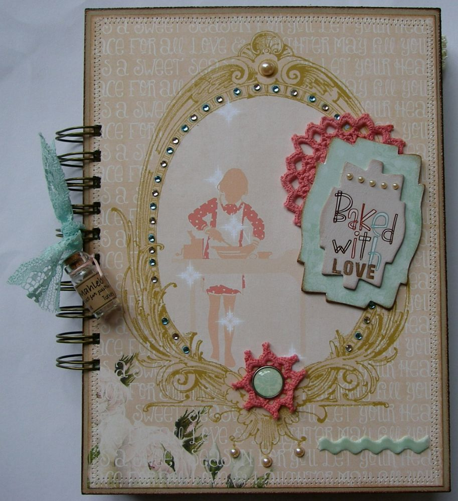 MOTHER'S DAY ~ OOAK Handmade Scrapbook Albums
