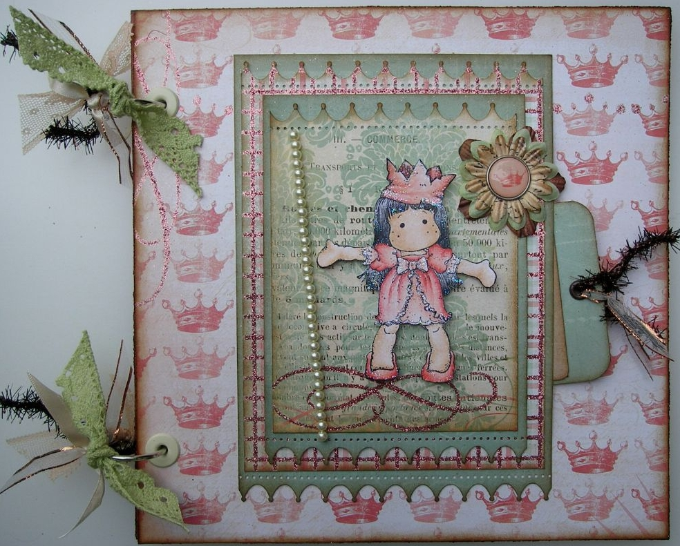 ROYAL ~ OOAK Handmade Scrapbook Albums