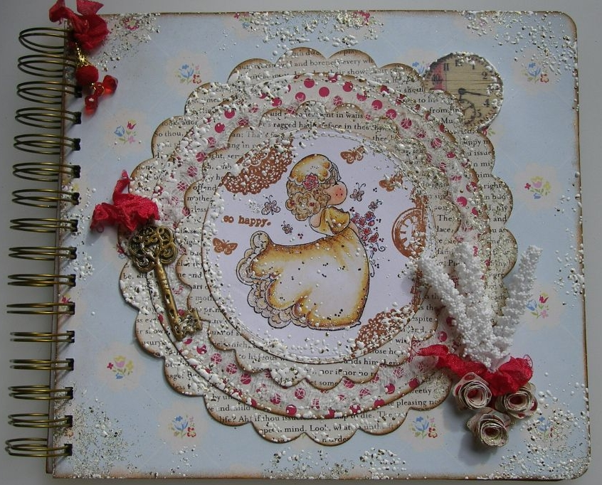 WEDDING ~ OOAK Handmade Scrapbook Albums