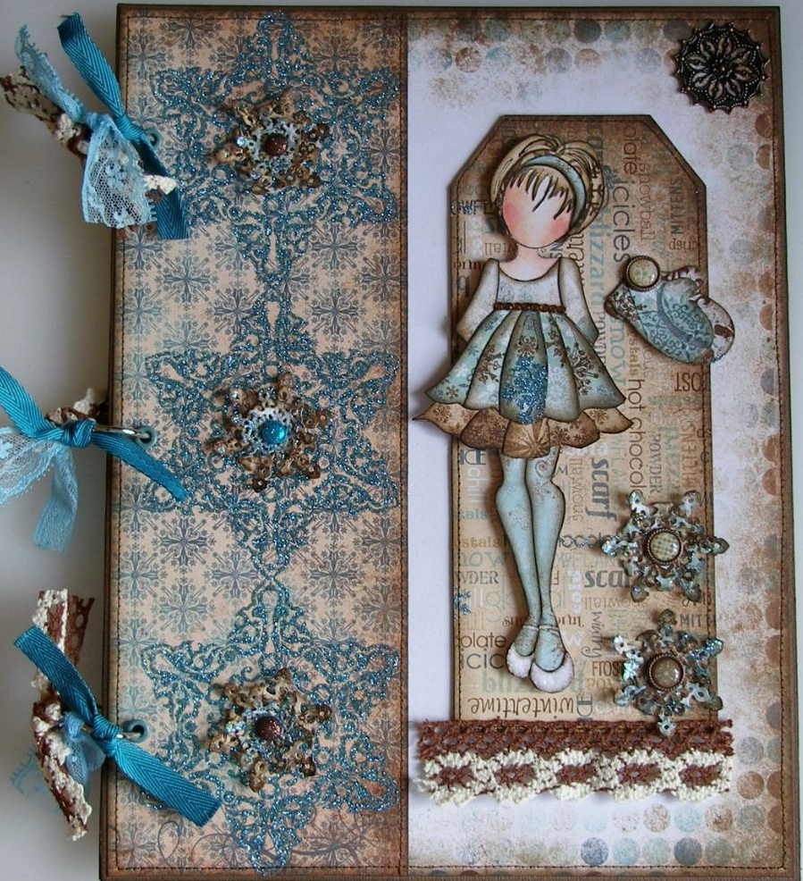 WINTER ~ OOAK Handmade Scrapbook Albums