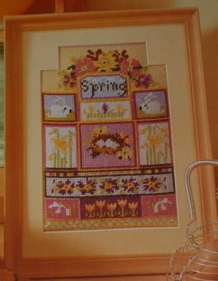Spring Sampler ~ Needlepoint Pattern
