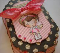 *cupcake belle* OOAK Handmade Birthday Trinket Gift/Memory Box