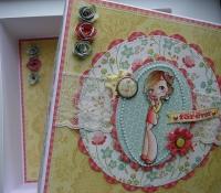 *you & me forever* OOAK Handmade Anniversary/Valentine Memory/Photo Box