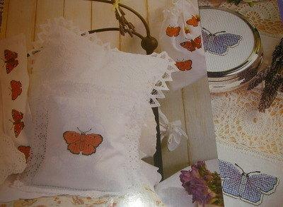 Five Butterfly Motifs ~ Cross Stitch Charts