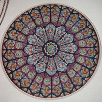 Circular Stained Glass Window ~ Cross Stitch Chart