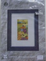 Permin of Copenhagen: Balloons over Fields 13-1337 ~ Cross Stitch Kit