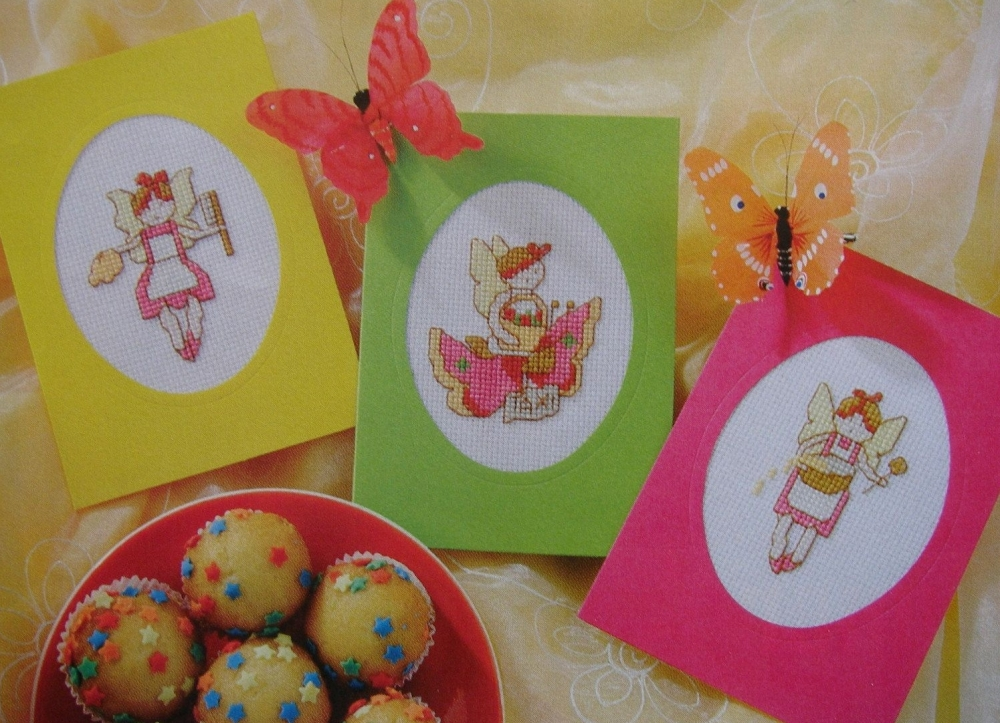 Fairy Cards ~ Three Cross Stitch Charts