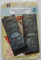 Prima ~ Decorative Wood Embellishments: Wooden Doors 560676