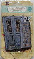 Prima ~ Decorative Wood Embellishments: Wooden Doors 560737