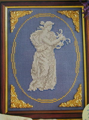 Classical Figurine ~ Cross Stitch Chart