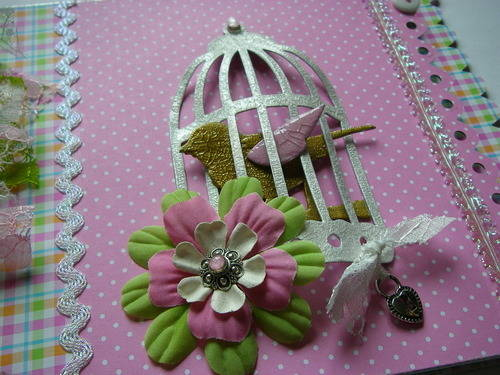 *pretty in pink* bird cage