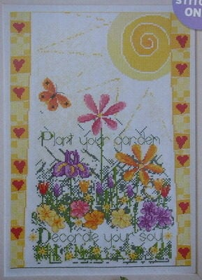 Plant Your Garden ~ Cross Stitch Chart