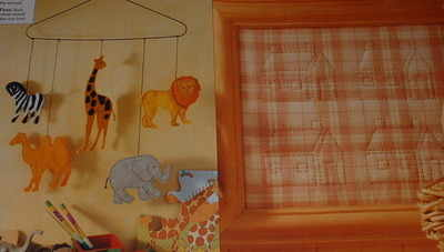 Applique Animal Mobile & Quilted House Sampler ~ Two Sewing Patterns