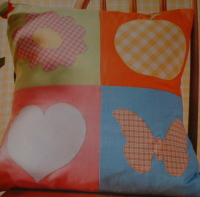 Applique Cushion ~ Sewing Pattern