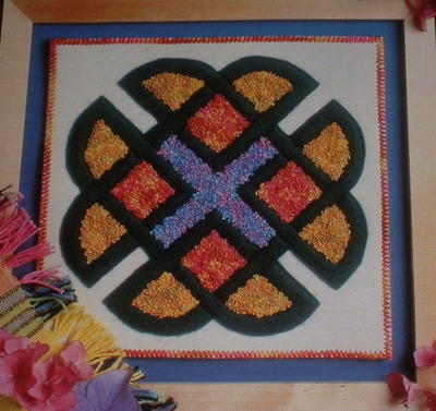 Knot Garden Panel ~ Machine Embroidery Pattern