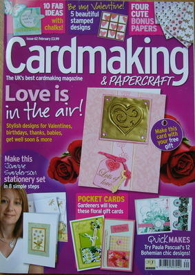 Card Making & Papercraft ~ Issue 62 ~ February 2009