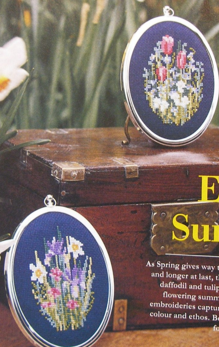 Spring Into Summer ~ Two Cross Stitch Charts
