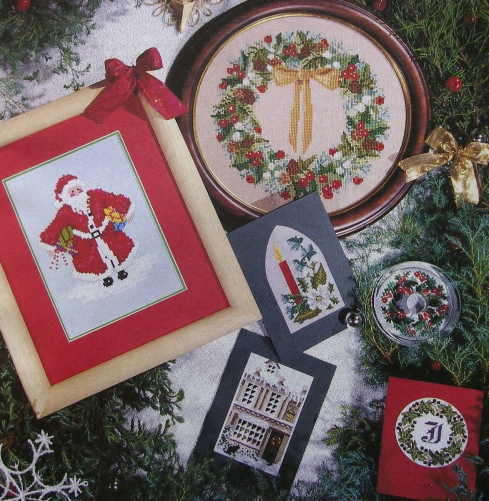 New Stitches Christmas Collection ~ Cross Stitch Charts
