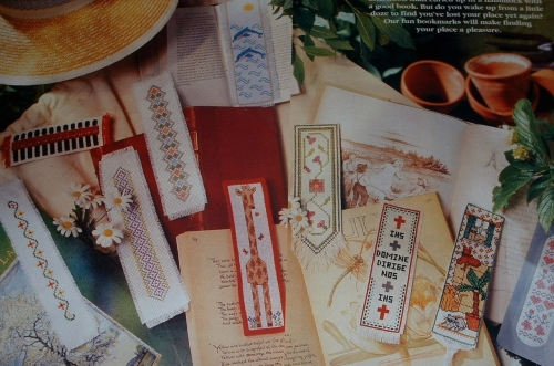 Assorted Bookmarks ~ Eleven Cross Stitch Charts
