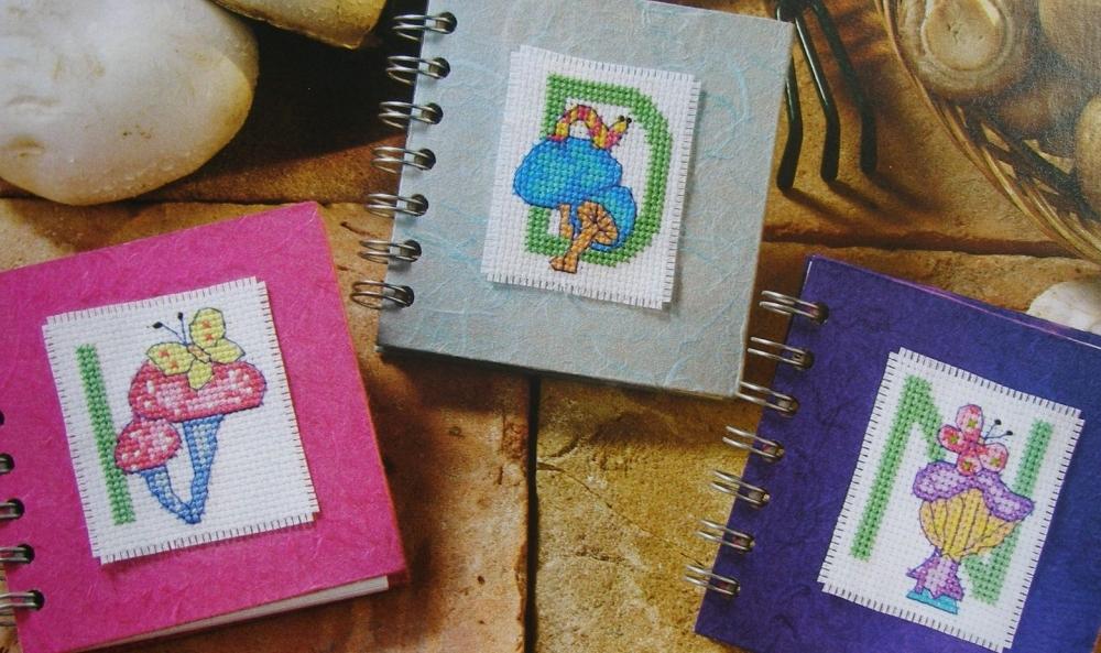 Mushroom ABC Alphabet & 123 Numbers ~ 36 Cross Stitch Charts