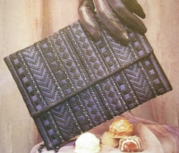 Canvaswork Evening Bag ~ Needlepoint Pattern