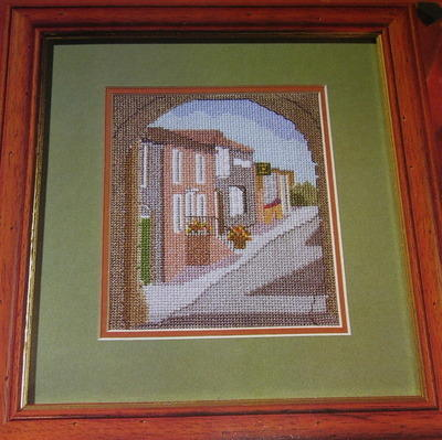 Old Tower Forge, Rye, Sussex ~ Cross Stitch Chart