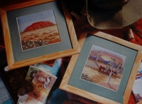 Australian Outback - Two Cross Stitch Charts