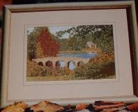 Stourhead, Wiltshire Landscape Garden ~ Cross Stitch Chart