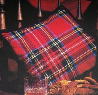 Scottish Tartan Cushion ~ Cross Stitch Chart