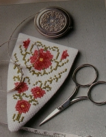 Floral Scissor case ~ Cross Stitch Chart