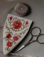 Floral Scissor case ~ Cross Stitch Chart