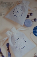 Hardanger Sachets ~ Two Embroidery Patterns
