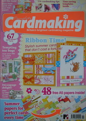 Complete Cardmaking ~ Papercrafting Magazine
