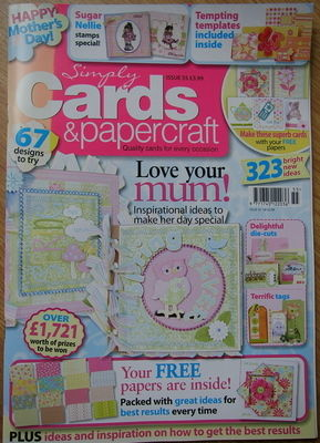 Simply Cards & Papercraft ~ Issue 55 ~ Papercrafting Magazine