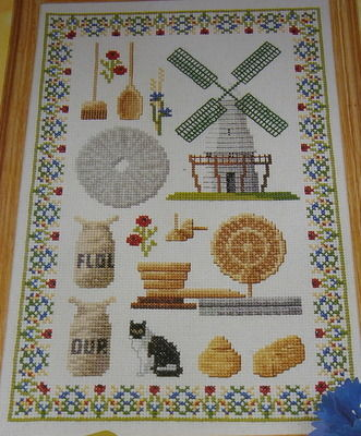Windmill Sampler ~ Cross Stitch Chart