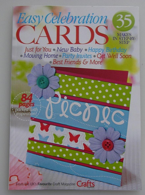 Crafts Beautiful: Easy Celebration Cards ~ 2007 Mini Magazine