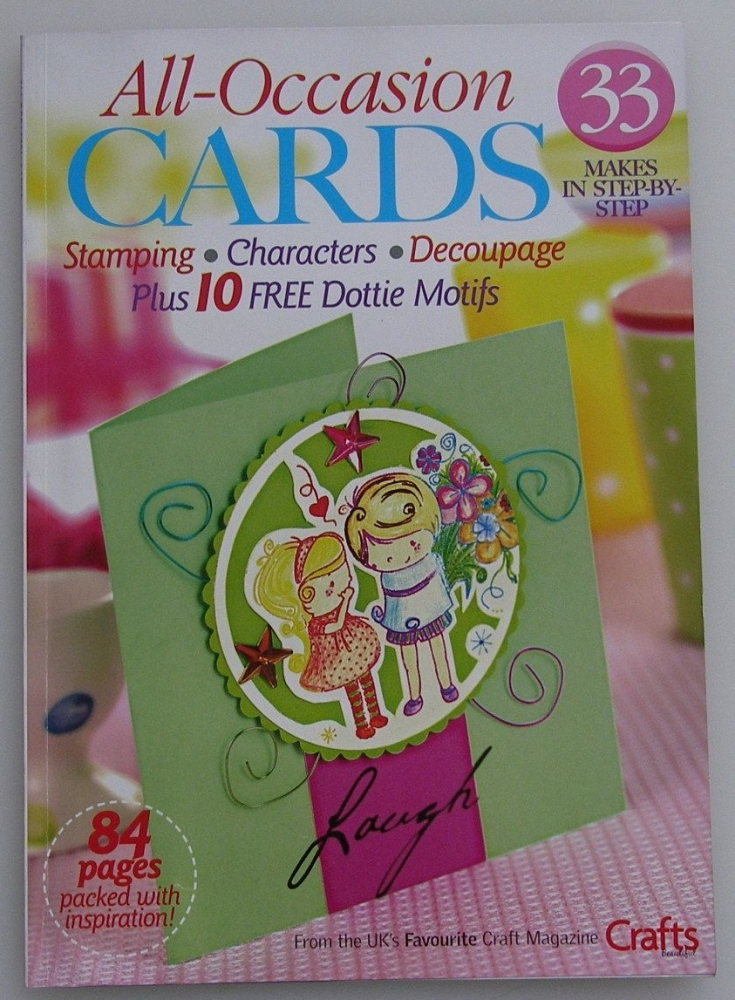 Crafts Beautiful: All Occasion Cards ~ 2007 Mini Magazine